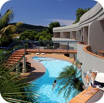 Motel Pool Whangamata