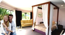 For your romantic getaway or wedding - the honeymoon suite